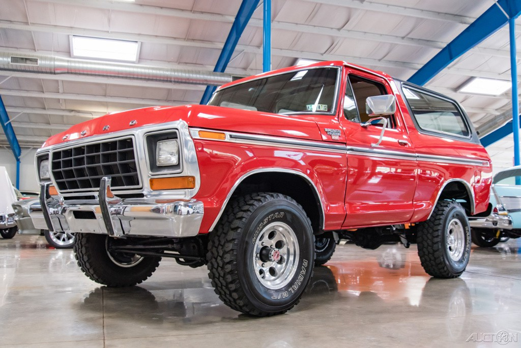 1979 Ford Bronco XLT   1979 Ford Bronco XLT Classic Car in ...